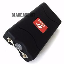 Cheetah BLACK 10MV Rechargeable Police LED Stun Gun Self Defense + Taser Case