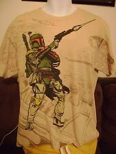STAR WARS/BOBA FETT- T-SHIRT-LARGE  BOBA FETT the BOUNTY HUNTER T SHIRT