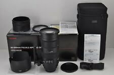 SIGMA AF APO 50-500mm F4.5-6.3 DG OS HSM Lens for Pentax K Mount w/ Box #170113c