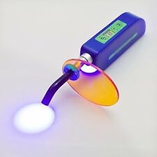 Blue 1500MW Wireless Cordless Dental LED Cure Curing Light Lamp for Dentist Use