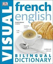 DK FRENCH ENGLISH BILINGUAL Visual Dictionary NEW foreign language book studies