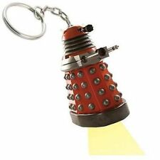 Doctor Who Red Dalek Mini Torch LED Keychain NEW!