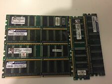 LOT OF 6  Mix Brand 512MB DDR1  Non ECC Desktop memory