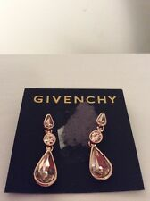 $48 Givency Rose Gold Silk Triple Drop  Earrings #354