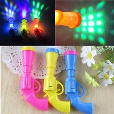 Gun Form LED Projektor Flashing Bunten Farbe Nachtlicht Lampe Kinder Spielzeug