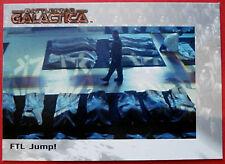 Battlestar Galactica-estreno edición-tarjeta #41 - FTL saltar!
