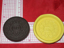 OREO cookie Flexible Silicone Push Mold Polymer Clay Resin Miniature Food A499