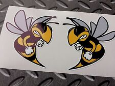 ANGRY WASP Car Motorcycle All Lambretta Vespa Scooter Fans Sticker 2 off 70mm
