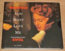 MADONNA You Must Love Me US 2 TRACK ECO-PAK CD SINGLE N.Mint!!
