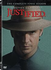 Justified . The Complete Final Season 6 . Timothy Olyphant . 3 DVD . NEU . OVP