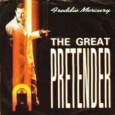 """FREDDIE MERCURY the great pretender/exercises in free love R 6151 uk 7"""" PS EX/VG"""