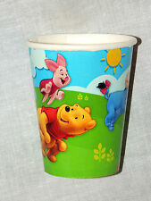 WINNIE THE POOH & FRIENDS   8-PAPER CUPS   BIRTHDAY CHILD-  PARTY SUPPLIES