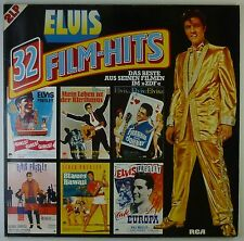 "2x12"" LP - Elvis Presley - 32 Film-Hits - k5990 - washed & cleaned"