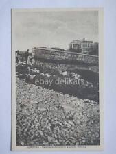 TRIESTE AURISINA cavalcavia ferroviario vecchia cartolina