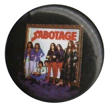 Black Sabbath Sabotage LP Cover 1 inch button pin badge Official Merchandise