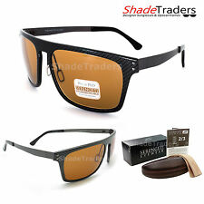SERENGETI FERRARA SUNGLASSES POLARIZED PHOTOCHROMIC PhD DRIVERS GUNMETAL 7897
