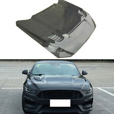 1PC Carbon Fiber Hood Bonnet Modification Replacement for Ford Mustang 2015-2017