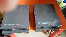 Lot of 4 Motorola PAC FM Mobile Repeater Radio H13TTY3110A Freq: 155.7300