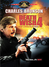 Death Wish 4: The Crackdown (BRAND NEW DVD) Charles Bronson, FREE SHIPPING !!