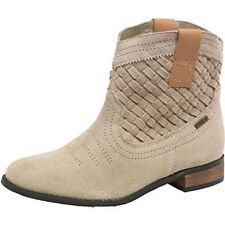 Ladies Firetrap Vito Suede Boots. Sand. Size 8 (2840057 S12)