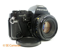 PENTAX SUPER A 35MM SLR CAMERA + SMC PENTAX-A 50MM F2 LENS EXCELLENT