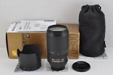 Nikon AF-S VR ZOOM NIKKOR 70-300mm F4.5-5.6G IF ED for F Mount w/ Box #170208c