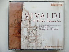 Hogwood conducts Vivaldi L'Estro Armonico AAM Chandos 0689 CD