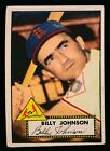 1952 Topps Baseball #83 Billy Johnson Ex c04287