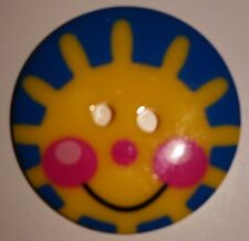 Brand New Beutron Sunny Face Button