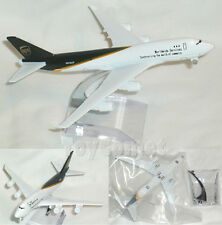 UPS Courier Cargo Boeing 747 Airplane 16cm DieCast Plane Model