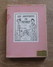 LES AMOUREUX DE PEYNET - les Jarres D'or Paris - 1st 1963 slipcase - French