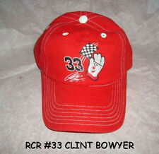 RCR NASCAR 33 CLINT BOWYER HAMBURGER HELPER BALL CAP HAT + FREE SHIPPING U.S.