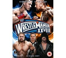 Official WWE Wrestlemania XXVIII (28) (3 Disc Set) 2012 DVD (Pre-Owned)