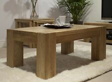 Padova solid oak furniture coffee table