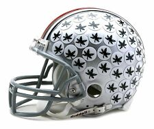 OHIO STATE BUCKEYES W/Z2B FACE MASK MINI HELMET RIDDELL NEW FREE SHIPPING