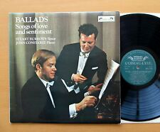 SOL 324 Ballads Songs Of Love And Sentiment Stuart Burrows 1971 NM/EX + insert