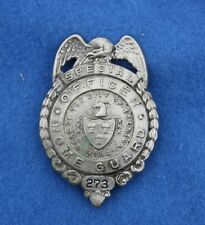 Obsolete Vintage WWII City of Trenton NJ Special Officer Home Guard Badge