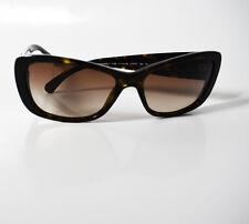 Gafas de sol auténticas Chanel 5186 Marrón Tortuga Marco lentes de gradiente de marrón