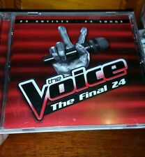 The Voice - The Final 24 - 2012  MUSIC CD - FREE POST