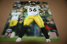 PITTSBURGH STEELERS LAMARR WOODLEY UNSIGNED 8X10 PHOTO POSE 3