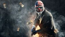 POSTER PAYDAY 2 THE HEIST PAY DAY DALLAS HOXTON CHAINS WOLF PS3 XBOX 360 GAME #5
