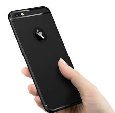 Premium Skidproof Soft Silicone Black Back Cover Case For Apple iPhone 5 /5s/5se