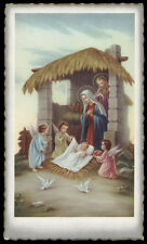 "santino-holy card""""ediz. NB serie M-851 NATIVITA'"