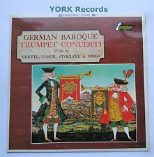 TV 34090S - GERMAN BAROQUE TRUMPET CONCERTI - Hertel / Fasch - Ex Con LP Record