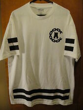 CROOKS & CASTLES ~ Football Soccer Style ~ #85 T Shirt XL White EUC