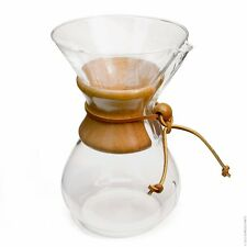 Chemex 6-Cup Classic Series Glass Coffee Maker CM-6A FREE SHIPPING