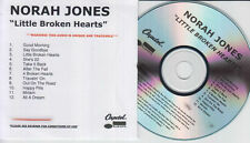NORAH JONES Little Broken Hearts UK 12-trk watermarked promo test CD sealed