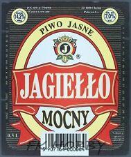 Poland Brewery Pokrówka Jagiełło Beer Label Bieretikett Cerveza pk16.9