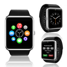 2-in-1 GSM + Bluetooth SmartWatch Phone Built-in Camera AT&T T-mobile Unlocked!