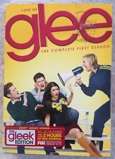 Glee: The Complete First Season (DVD, 2010, 7-Disc Set) GLEEK EDITION! FREE SHIP